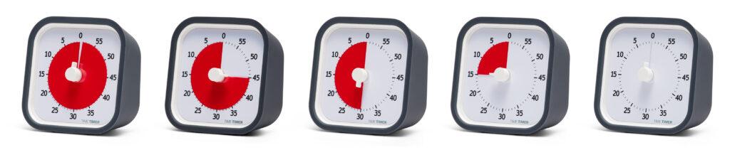 Nedräkning sv tid med Time Timer MOD