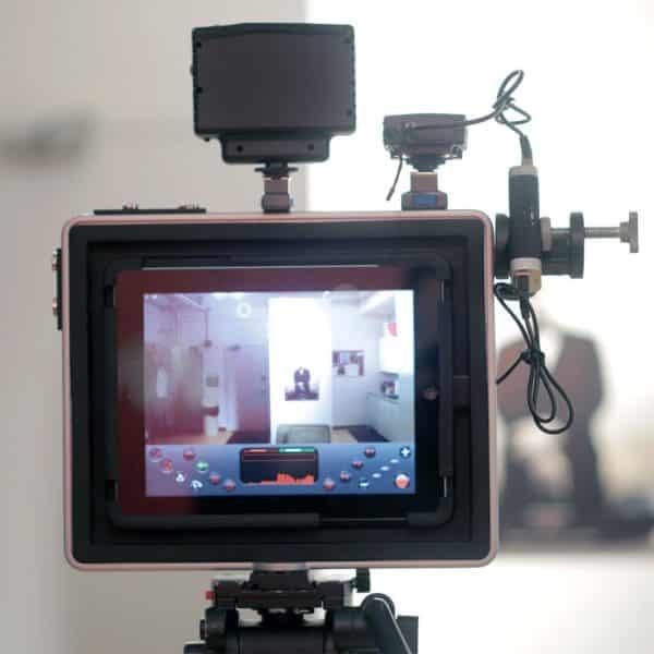Padcaster filmstativ för iPad