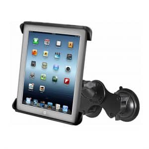 Hållare för äldre iPad 2-4 med dubbelt sugkoppsfäste