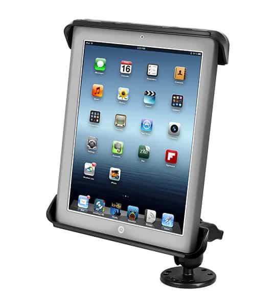 Hållare för iPad 2/3/4 med skruvfäste