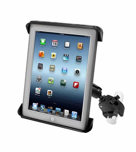 Hållare för iPad 2/3/4 med klofäste
