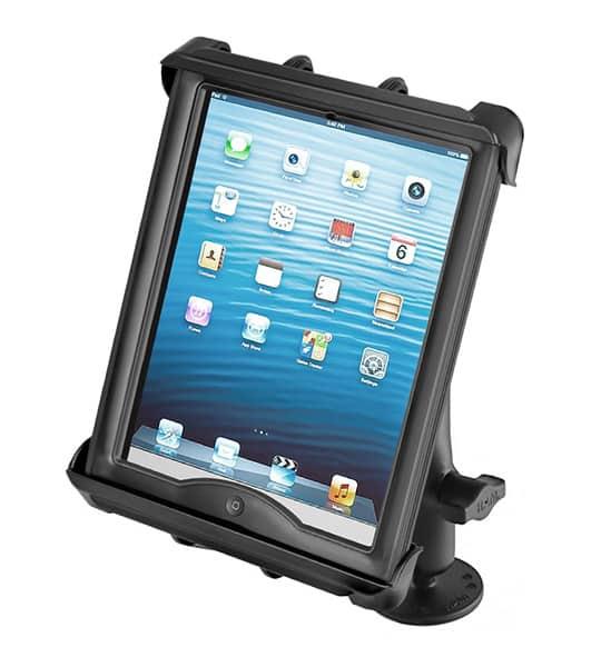 Hållare för iPad 2/3/4 i skydd med skruvfäste