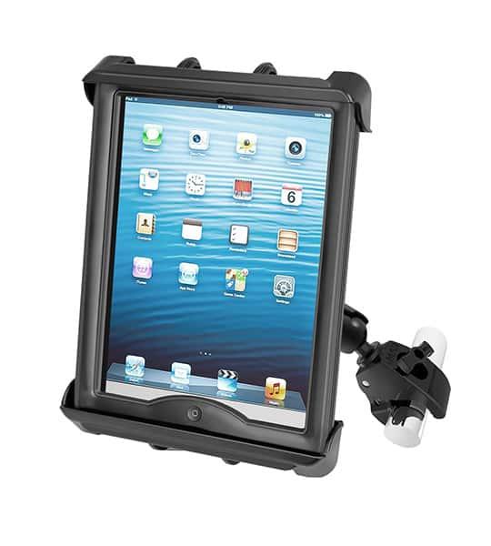 Hållare för iPad 2/3/4 i skydd med klofäste