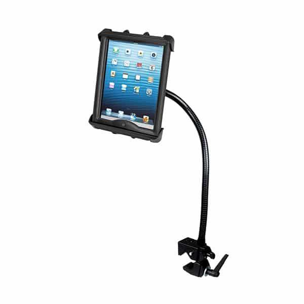 Hållare för iPad 2/3/4 i skydd på böjbar arm