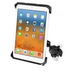 Hållare för iPad med klofäste