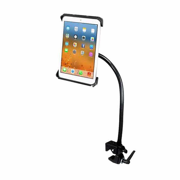 Hållare för iPad på böjbar arm