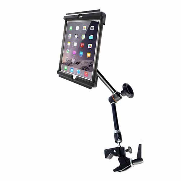 Hållare för iPad i skydd på Magic arm