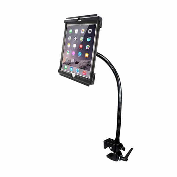 Hållare för iPad Air, iPad Air 2 och iPad Pro 9,7 i skydd på böjbar arm