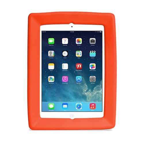 Big Grips iPad Air, Air 2 och nya iPad (5:e gen. 2017) Röd