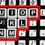 Clevy Kontrast tangentbord har tydliga referenspunkter
