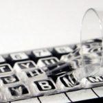 Clevy Kontrast tangentbord vätskeskydd