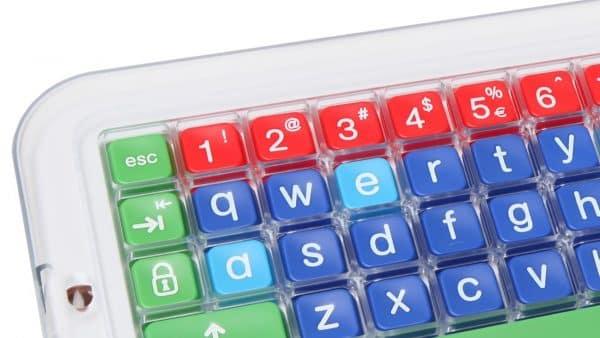 Clevy pedagogiskt tangentbord överlägg