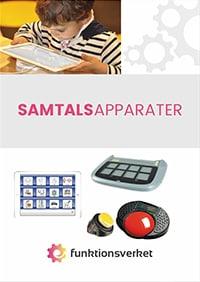 Samtalsapparater - produktbroschyr från Funktionsverket