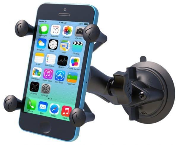 Smartphonehållare med sugkoppsfäste