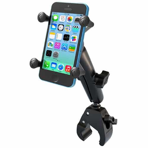 Smartphonehållare med klofäste