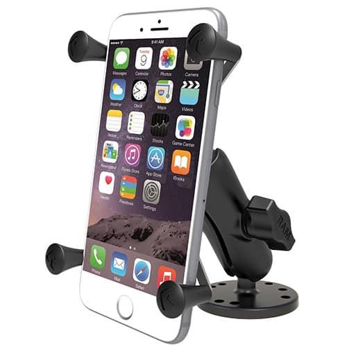 Smartphonehållare med skruvfäste Large