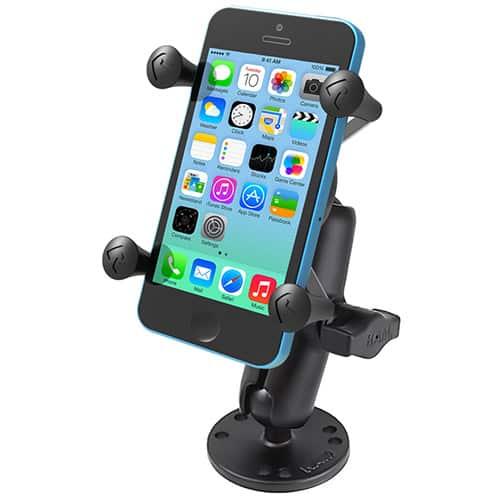 Smartphonehållare med skruvfäste