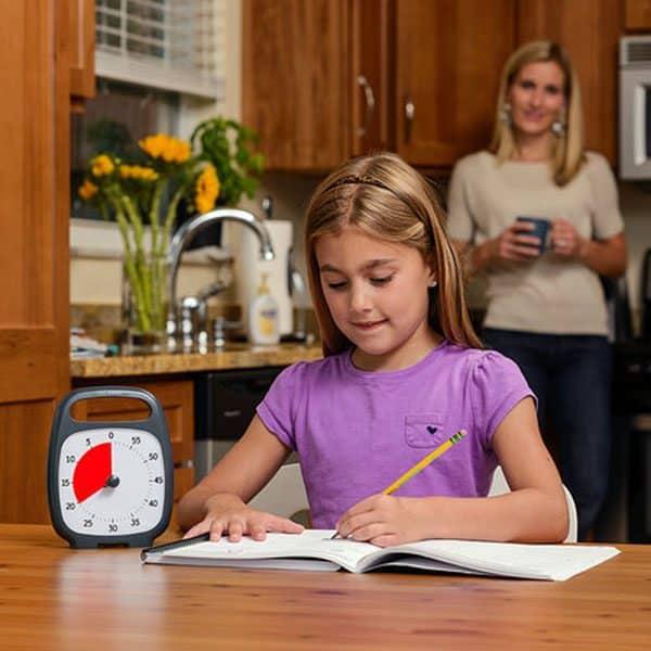 Time Timer Plus vid läxorna