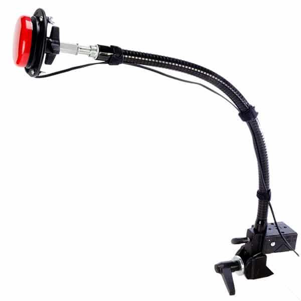 Hållare för kontakter på böjbar arm med SuperClamp