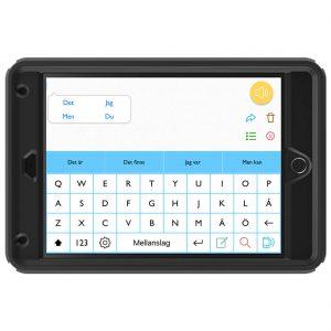 PredictablePlattan 8 Otterbox samtalsapparat för personer med talsvårigheter som personer med ALS, cerebral pares, etc.