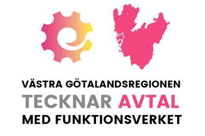Västra Götalandsregionen tecknar avtal med Funktionsverket