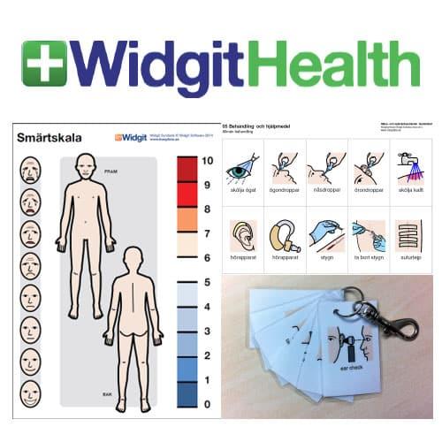 Widgit Hälso- och sjukvårdssymboler