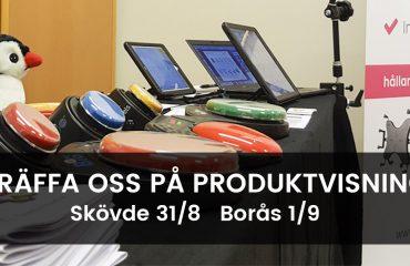 Produktvisning i Västra Götaland