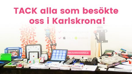 Hjälpmedelsutställning i Karlskrona