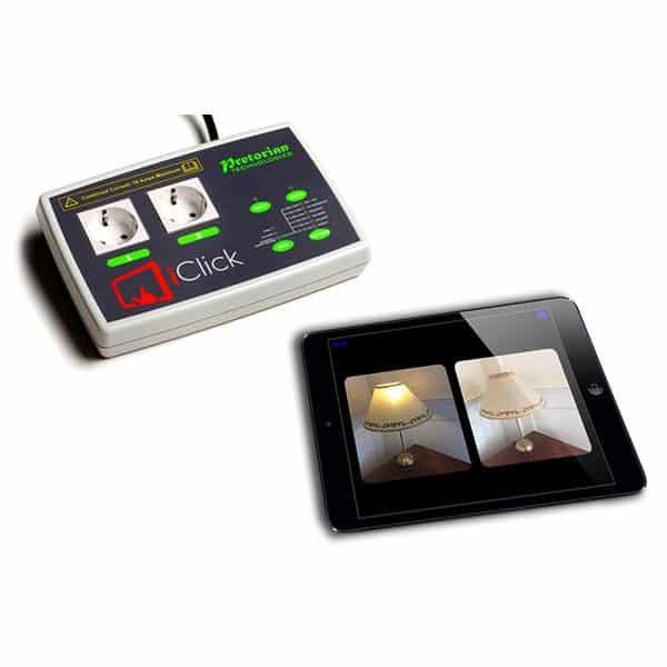 iClick reläbox för iPad
