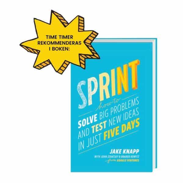 Time Timer rekommenderas i Sprint-boken
