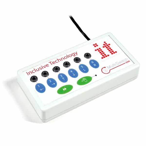 MultiSwitch 2 kontaktlåda med USB