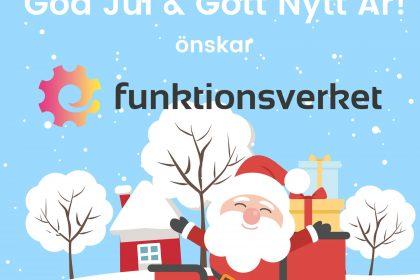 God Jul & Gott Nytt År önskar Funktionsverket