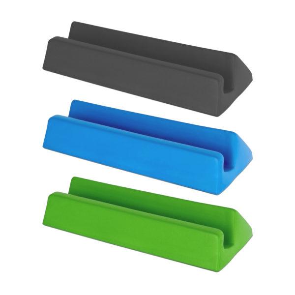 Big Grips ställ i grön, blå och svart färg