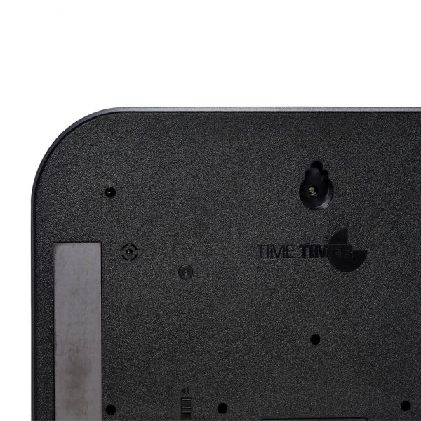 Time Timer Large Magnet kan hängas på vägg och på magnetisk yta som whiteboard, kylskåp, etc.