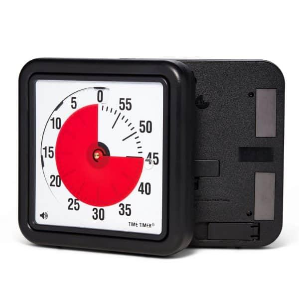 Time Timer Medium Magnet är en Time Timer modell med magneter på baksidan. Sätt upp på en whiteboard, kylskåp, eller annan magnetisk yta.