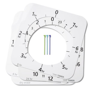 Time Timer MAX extra urtavlor och tidsmarkörer
