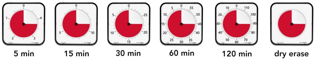 Time Timer MAX stor timer för klassrum.
