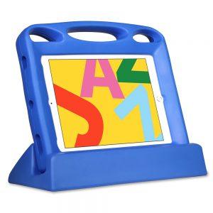 """Big Grips Lift för iPad 7:e gen 10,2"""" paket med skydd och ställ blå"""