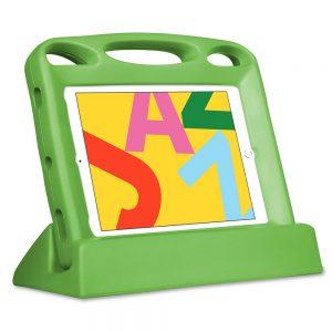 """Big Grips Lift för iPad 7:e gen 10,2"""" paket med skydd och ställ grön"""