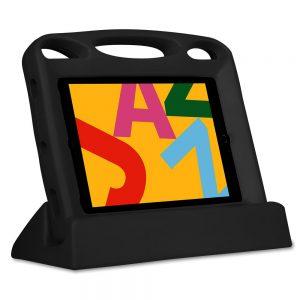 """Big Grips Lift för iPad 7:e gen 10,2"""" paket med skydd och ställ svart"""