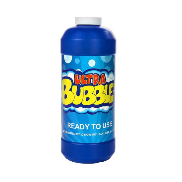 Bubbelmaskin för kontaktstyrning. Du får med ca 1 liter färdigblandad såpbubbellösning.