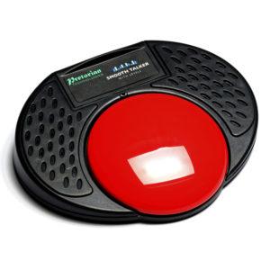 SmoothTalker med nivåer är ett kommunikationshjälpmedel som spelar upp meddelanden på många olika sätt.