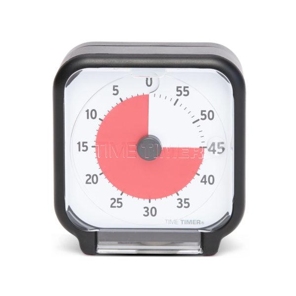 Time Timer Pocket med transportskydd i form av plexiglas framför urtavlan