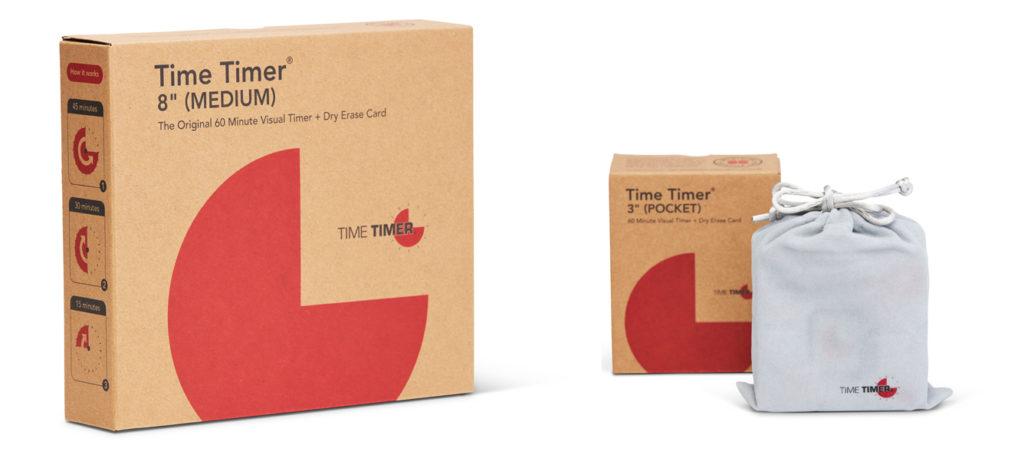 Time Timer har nu ny miljövänlig förpackning i wellpapp